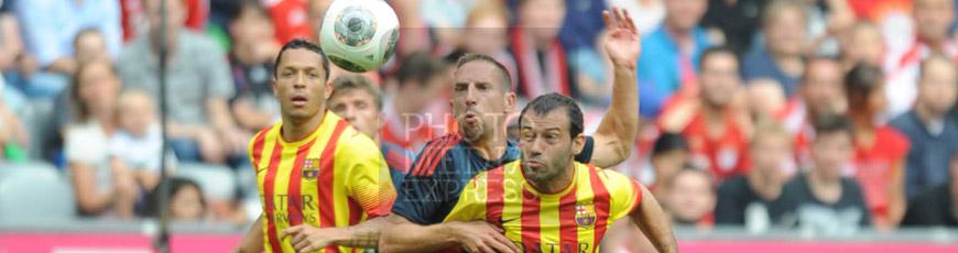 Partido: FC Bayern Munich 2 – 0 FC Barcelona