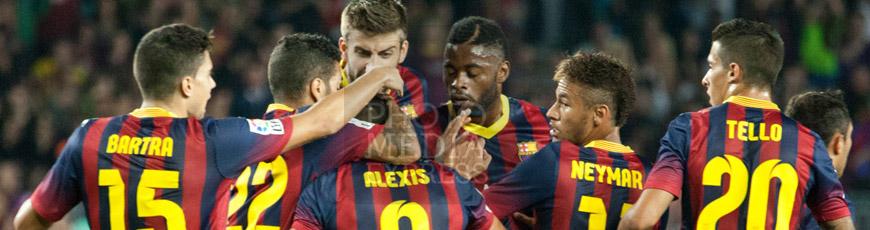 Partido: FC Barcelona 4 – 1 Valladolid