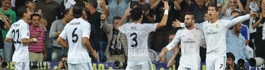 Partido: Real Madrid 4 – 0 FC København