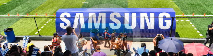 Inauguración de la Copa SAMSUNG 2014