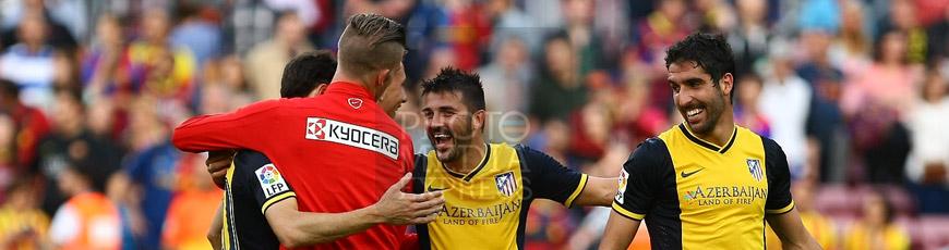 FC Barcelona 1 – 1 Atlético de Madrid. Colchoneros campeones