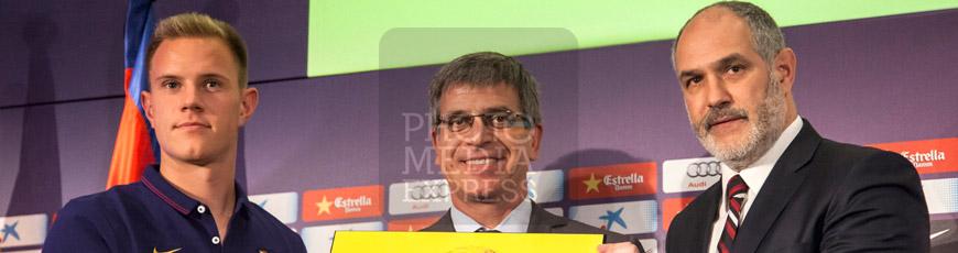 Marc-André ter Stegen nuevo portero del FC Barcelona