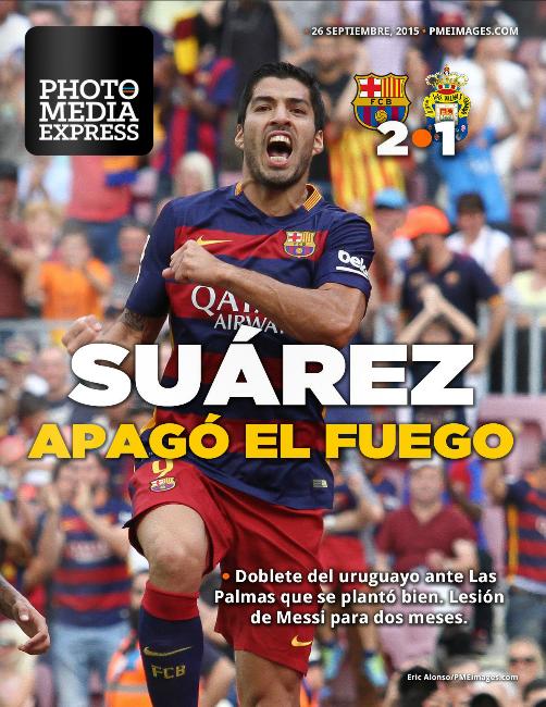 Partido FCBarcelona 2-1 Las Palmas UD