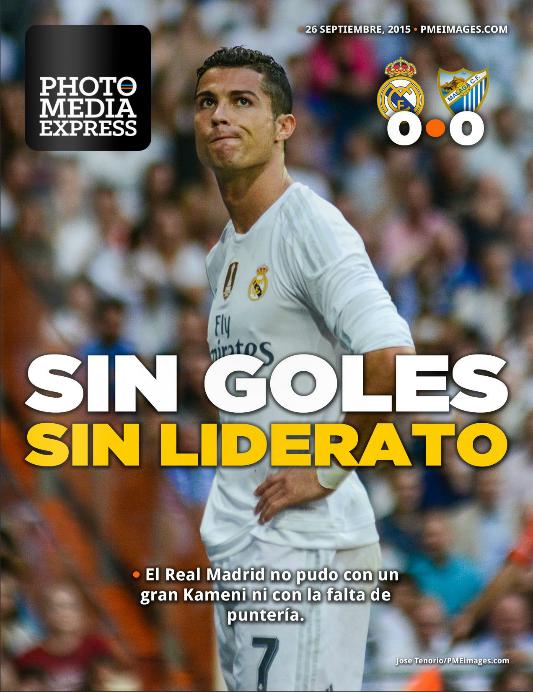 Partido Real Madrid 0-0 Málaga - Liga BBVA