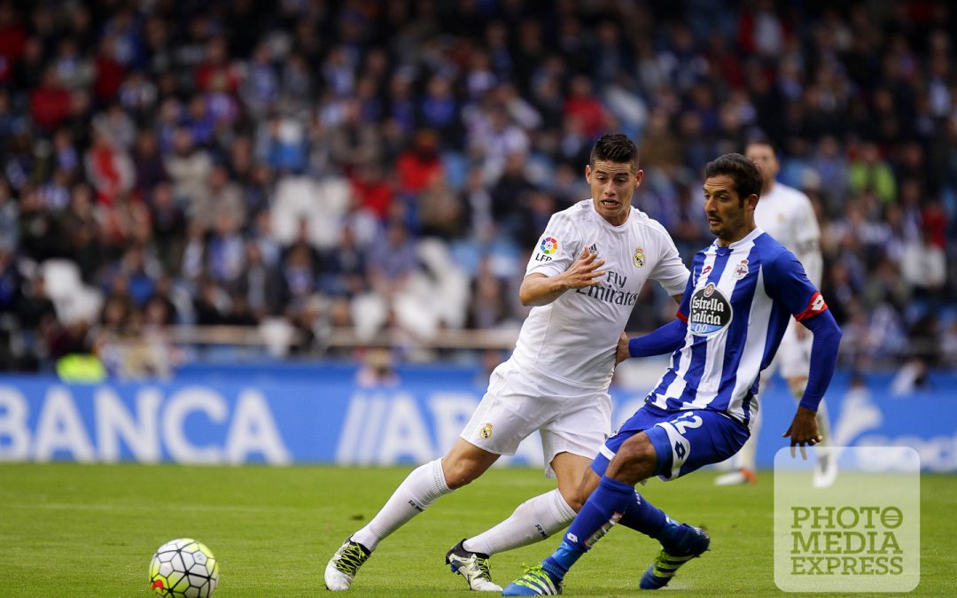 Deportivo La Coruña 0-2 Real Madrid