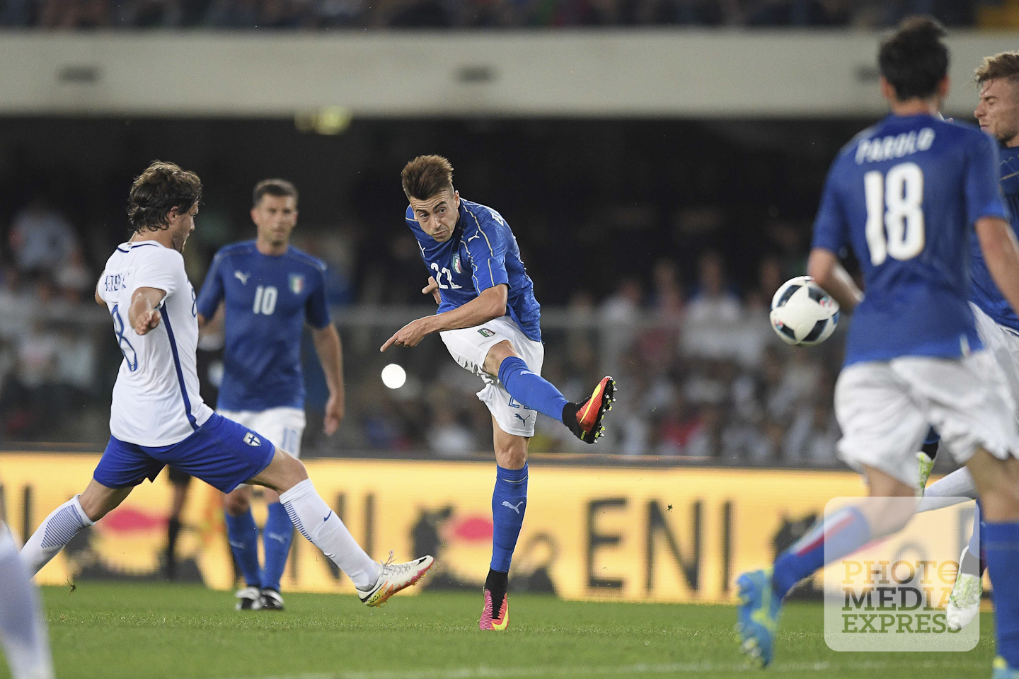 Italy vs Finland friendly match