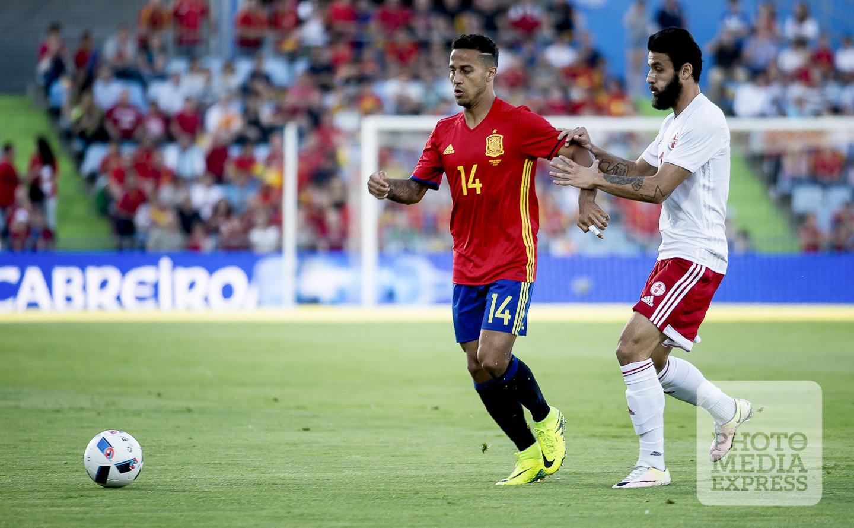 Spain 0-1 Gerogia. International Friendly Match