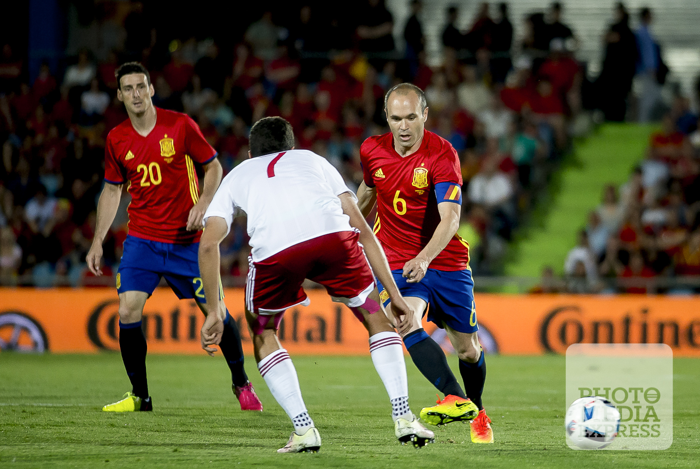 Spain 0-1 Gerogia. International Friendly Match